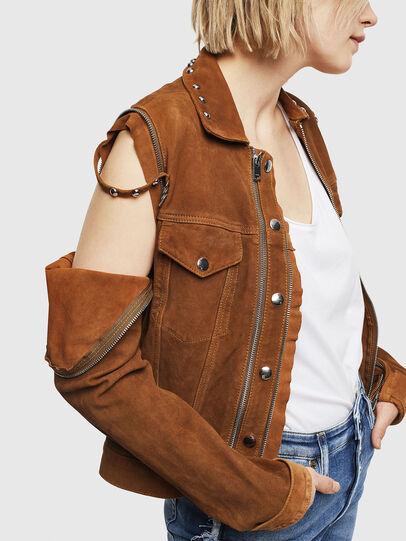 Diesel - L-TAHALI,  - Leather jackets - Image 5