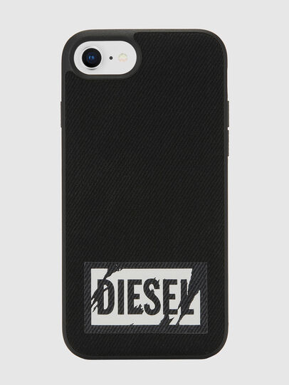 Diesel - BLACK DENIM IPHONE 8/7/6S/6 CASE, Black - Cases - Image 2