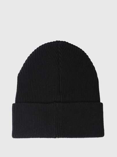 Diesel - K-CODER, Black - Knit caps - Image 2