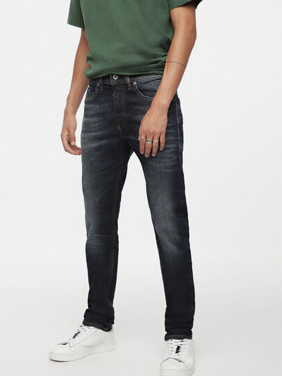 Diesel - Thommer 084ZU, Dark Blue - Jeans - Image 1