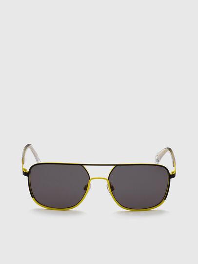 Diesel - DL0325, Black/Yellow - Sunglasses - Image 1