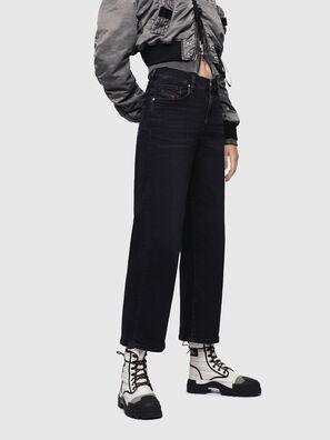 Widee 084HQ, Black/Dark grey - Jeans