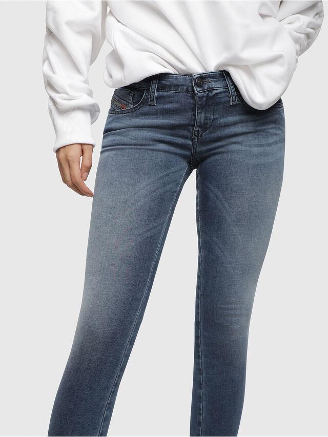 Diesel Skinzee Low Zip 0681P, Medium blue - Jeans - Image 3