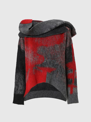 M-BRONJA, Black/Red - Knitwear
