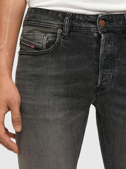 Diesel - Sleenker 009JF, Black/Dark grey - Jeans - Image 3
