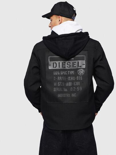 Diesel - J-JESSY-HOOD, Black - Jackets - Image 2