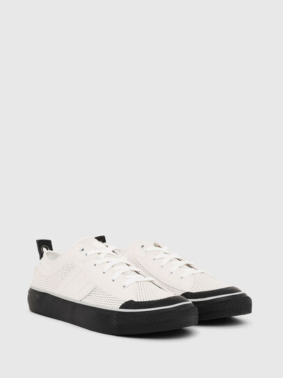 Diesel - S-ASTICO LOW LOGO, White - Sneakers - Image 2