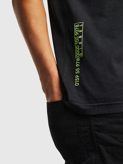 Diesel - T-DIEGO-J5, Black - T-Shirts - Image 7