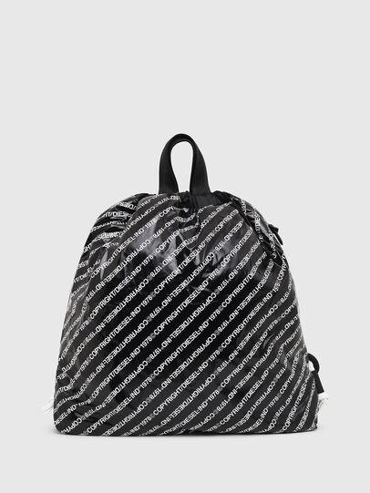 Diesel - COPYBACK, Black/White - Backpacks - Image 1