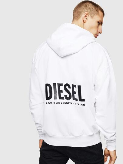 Diesel - LR-S-GIRK-HOOD-VIC, White - Sweaters - Image 2