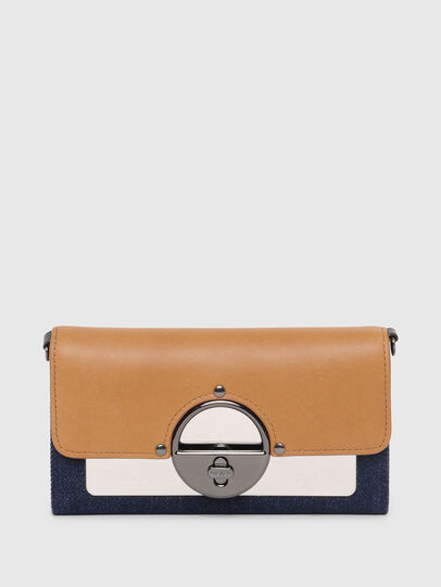 Diesel - GIPSILOCK, Blue/Beige - Small Wallets - Image 1
