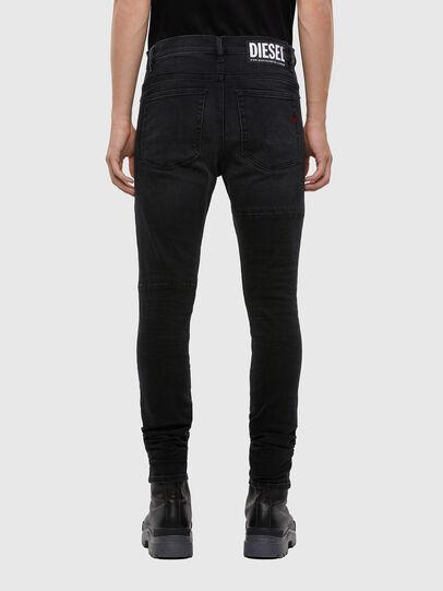 Diesel - D-Amny 009KS, Black/Dark grey - Jeans - Image 2