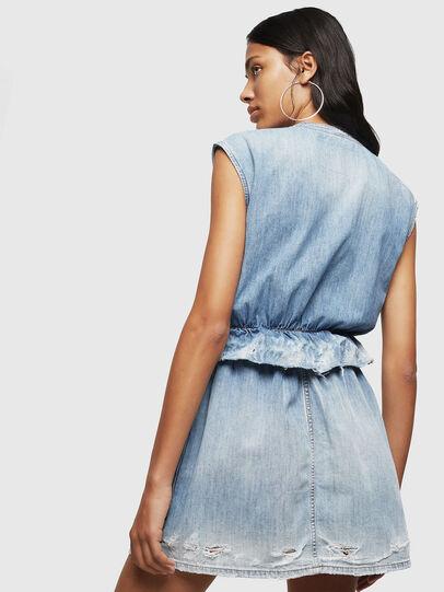 Diesel - DE-AVA, Light Blue - Dresses - Image 2