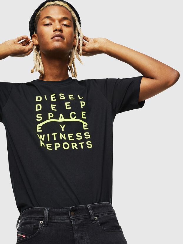 T-JUST-J5, Black - T-Shirts