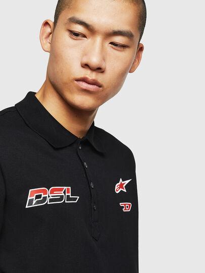 Diesel - ASTARS-T-NIGHT-NEW, Black - T-Shirts - Image 2