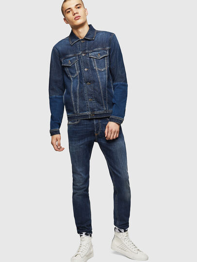 Diesel - D-NHILL-SP JOGGJEANS, Medium blue - Denim Jackets - Image 6