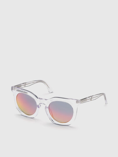Diesel - DL0283, White - Sunglasses - Image 2
