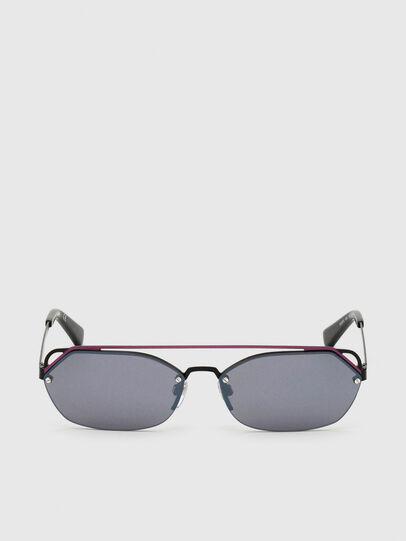 Diesel - DL0313, Black/Violet - Sunglasses - Image 1