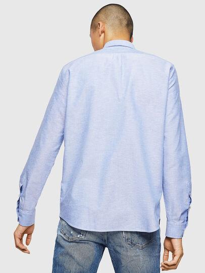 Diesel - S-MOI-R-B1, Azure - Shirts - Image 2