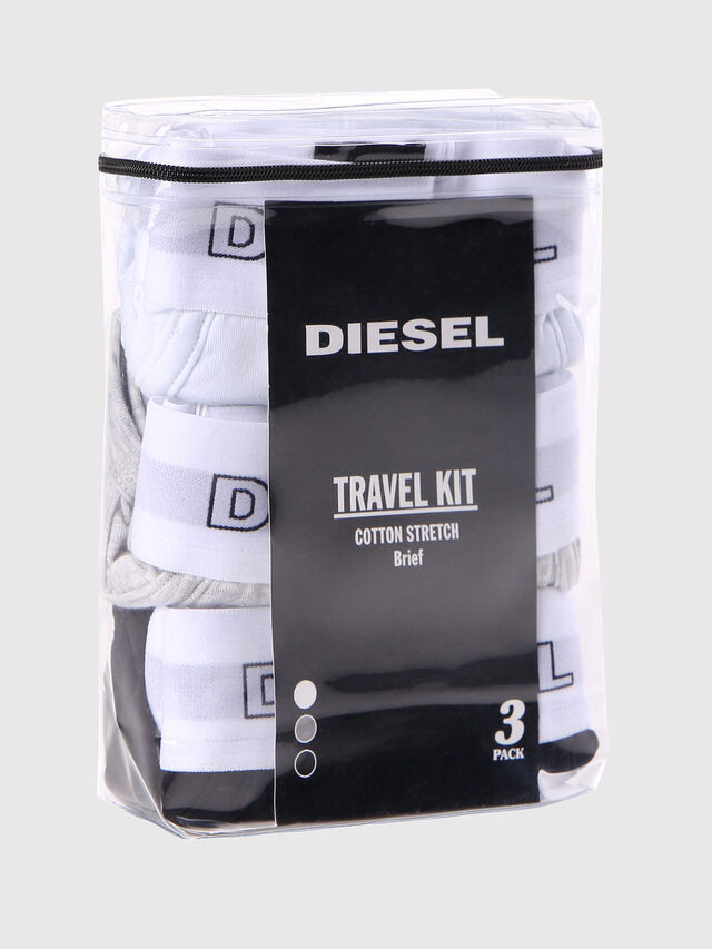 Diesel UMBR-ANDRETHREEPACK, White - Briefs - Image 2