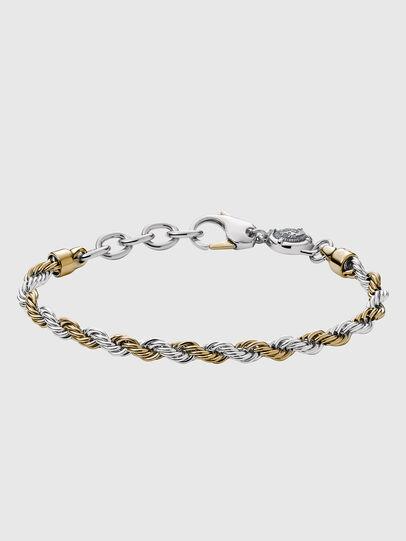 Diesel - DX1263, Gold/White - Bracelets - Image 1