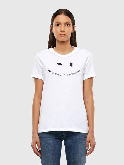 Diesel - T-SILY-V21, White - T-Shirts - Image 1