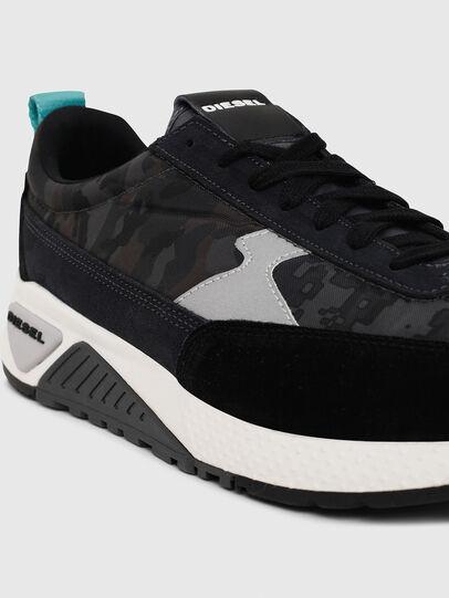 Diesel - S-KB LOW LACE II, Black/Dark grey - Sneakers - Image 4
