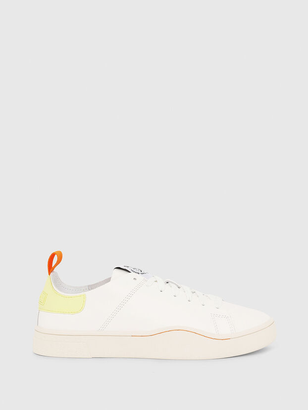 S-CLEVER LS W, White/Yellow - Sneakers