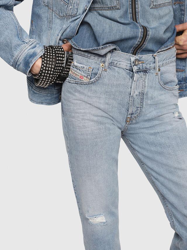 Diesel - Aryel 080AF, Light Blue - Jeans - Image 3