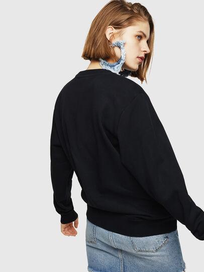 Diesel - F-GIR-DIVISION-FL, Black - Sweaters - Image 5