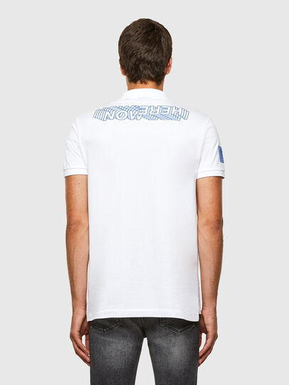 Diesel - T-RALF-PATCH, White - Polos - Image 6