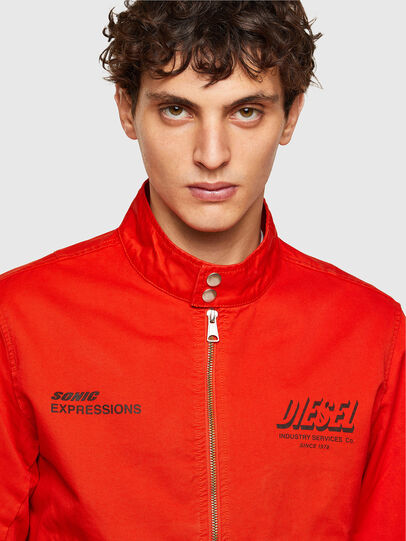 Diesel - J-HALLS-PRINT, Orange - Jackets - Image 3