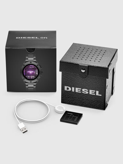 Diesel - DT2017, Dark grey - Smartwatches - Image 5