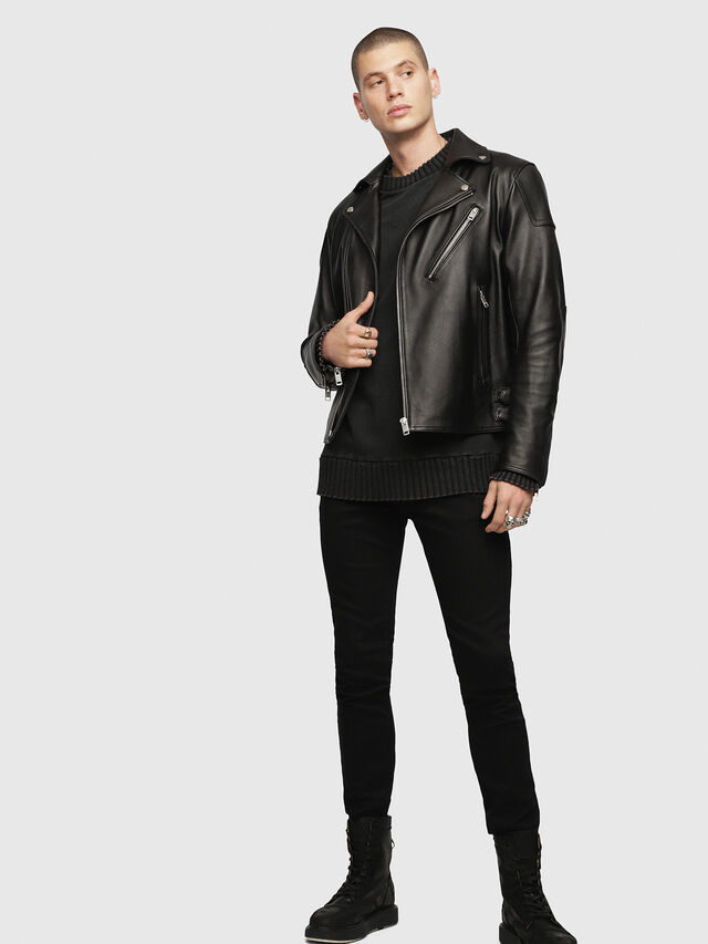 Diesel - Sleenker 0886Z, Black/Dark grey - Jeans - Image 4