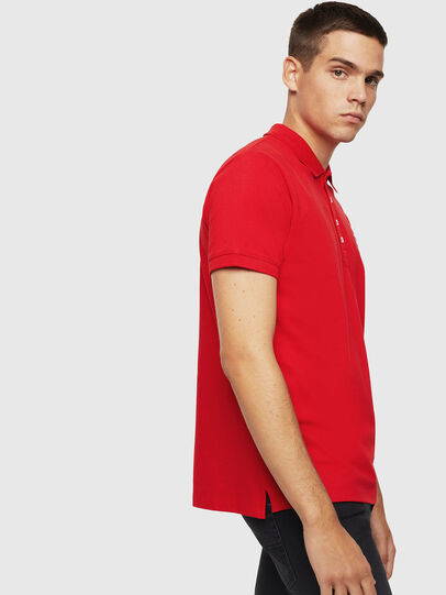 Diesel - T-KAL-PATCH, Red - Polos - Image 4