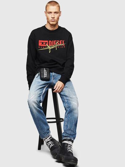 Diesel - S-BAY-BX5, Black - Sweaters - Image 4