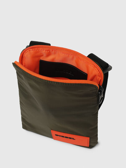 Diesel - F-DISCOVER CROSS, Dark Green - Crossbody Bags - Image 4