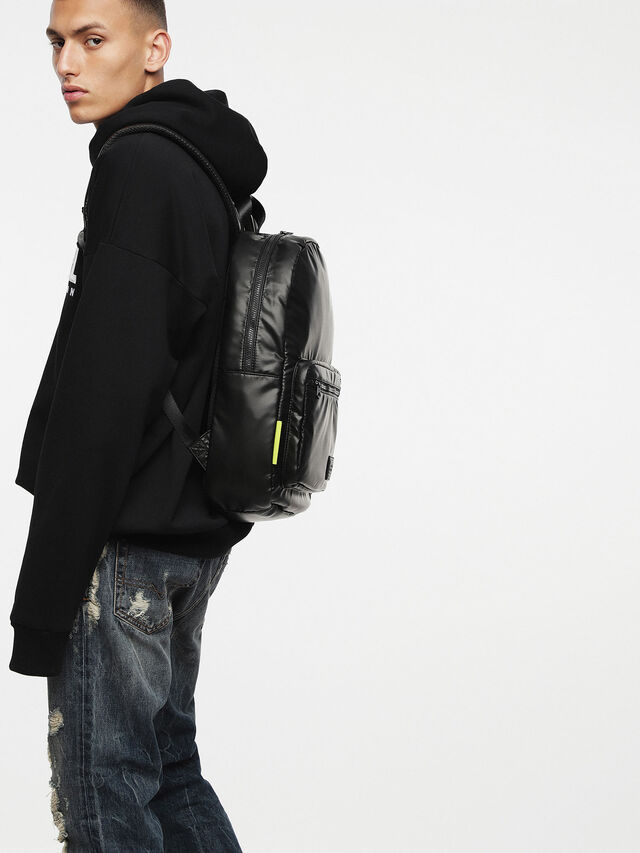 Diesel F-DISCOVER BACK, Black - Backpacks - Image 6