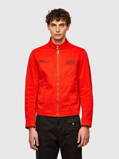 Diesel - J-HALLS-PRINT, Orange - Jackets - Image 1