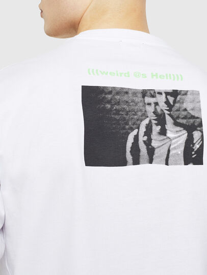 Diesel - T-JUSTLY, White - T-Shirts - Image 4