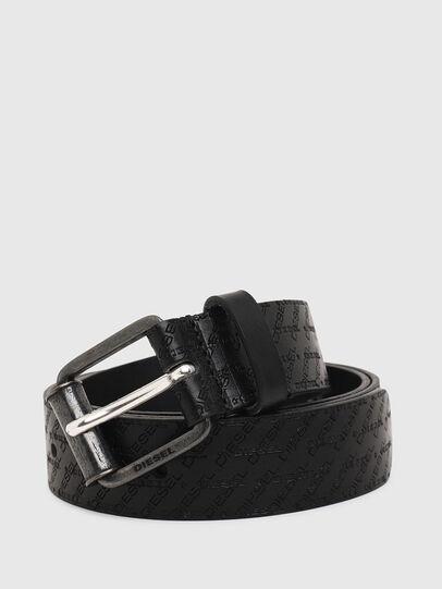 Diesel - B-ZENO, Black - Belts - Image 2
