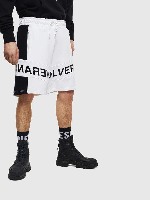 P-SHAM, White/Black - Shorts
