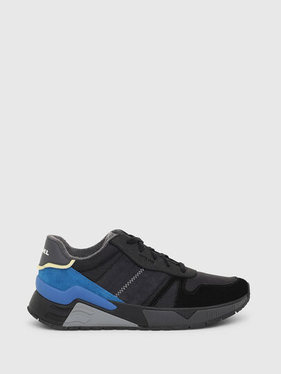 Diesel - S-BRENTHA FLOW, Black/Blue - Sneakers - Image 1