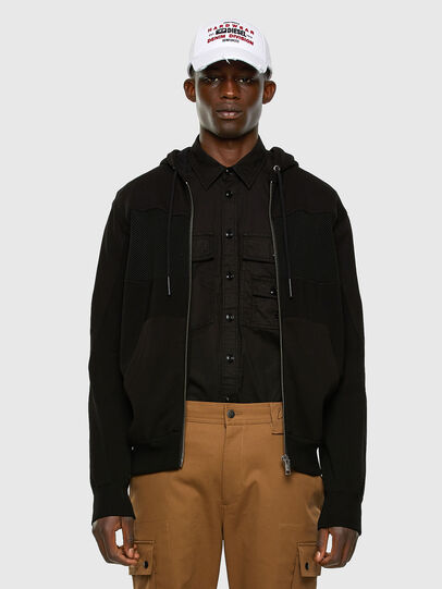 Diesel - K-WORTH, Black - Knitwear - Image 5