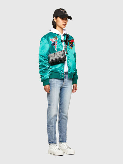 Diesel - CL-J-ROSS-REV-O, Water Green - Jackets - Image 8