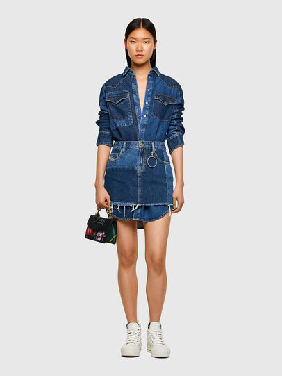 Diesel - DE-DESY-Z1, Medium blue - Dresses - Image 7