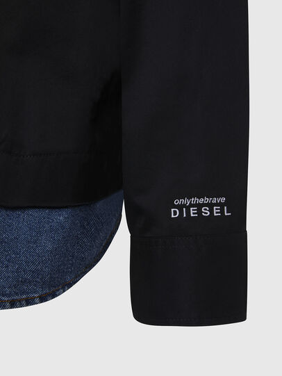 Diesel - S-DUSTIN, Black - Shirts - Image 5