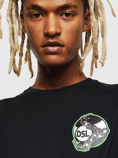 Diesel - T-DIEGO-J10, Black - T-Shirts - Image 3
