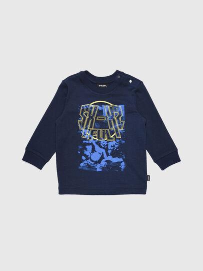 Diesel - TRAVEB, Dark Blue - T-shirts and Tops - Image 1