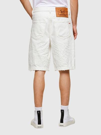Diesel - D-MACS-SHORT, White - Shorts - Image 2